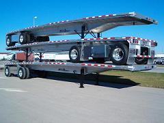 Flatbed Trailer Transport