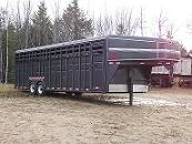 Gooseneck Trailer Shipping